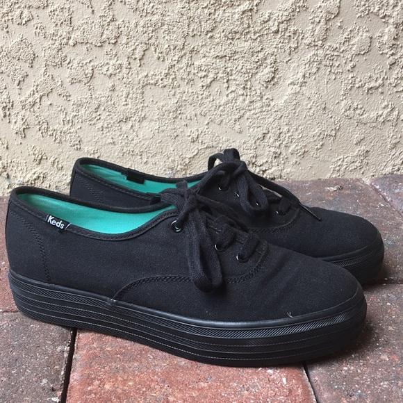 Keds Shoes | Keds Triple Black Womens